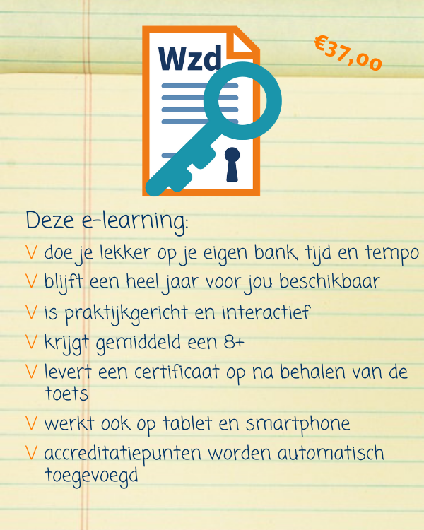 e-learning Basiscursus wet zorg en dwang