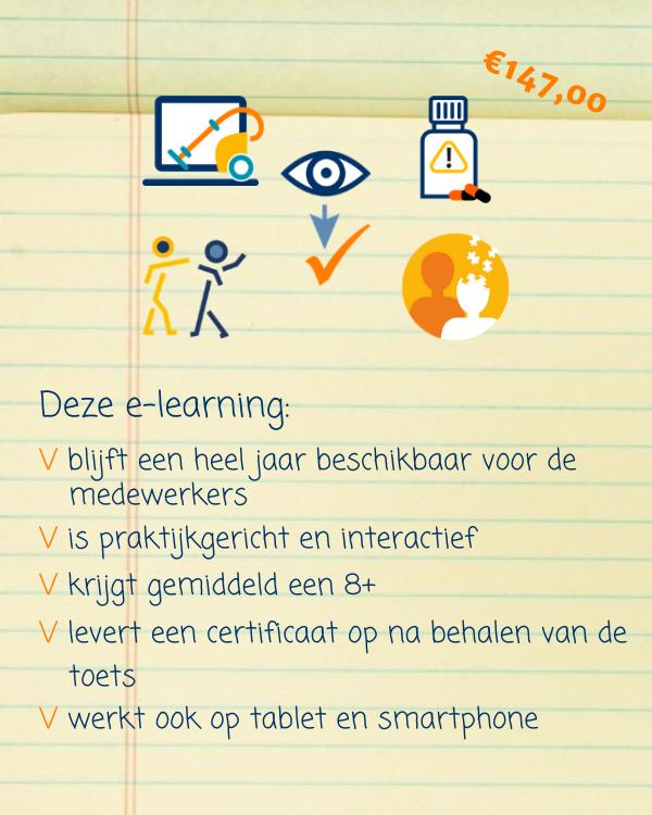 E-learning Huishoudelijke zorg