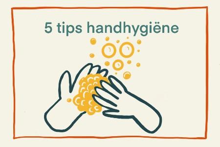 5 tips handhygiëne
