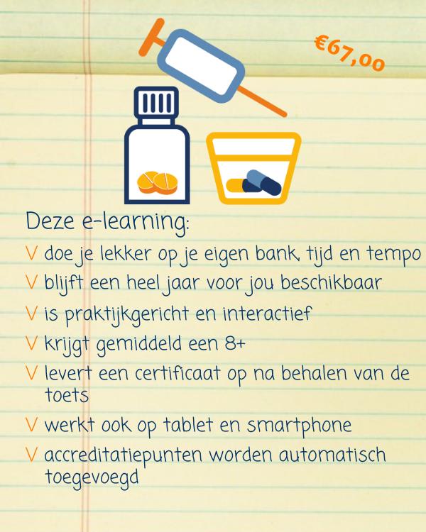 E-learning Medicatie toedienen aanreiken klaarzetten