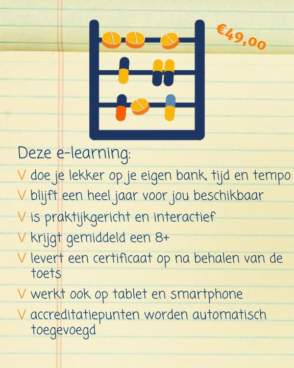 E-learning Medisch rekenen