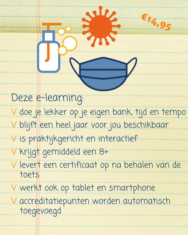 e-learning omgaan met coronavirus
