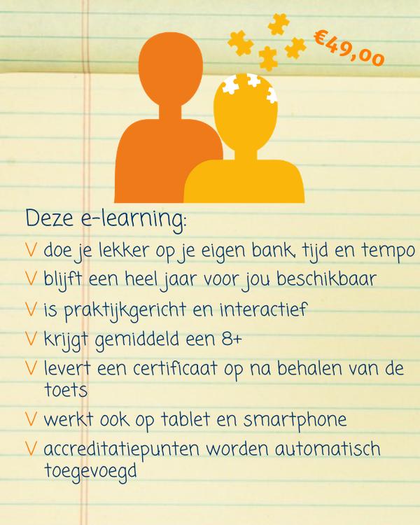e-learning omgaan met dementie