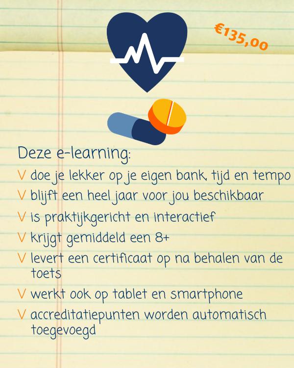E-learning Omgaan met ziekte niveau 3 en hoger