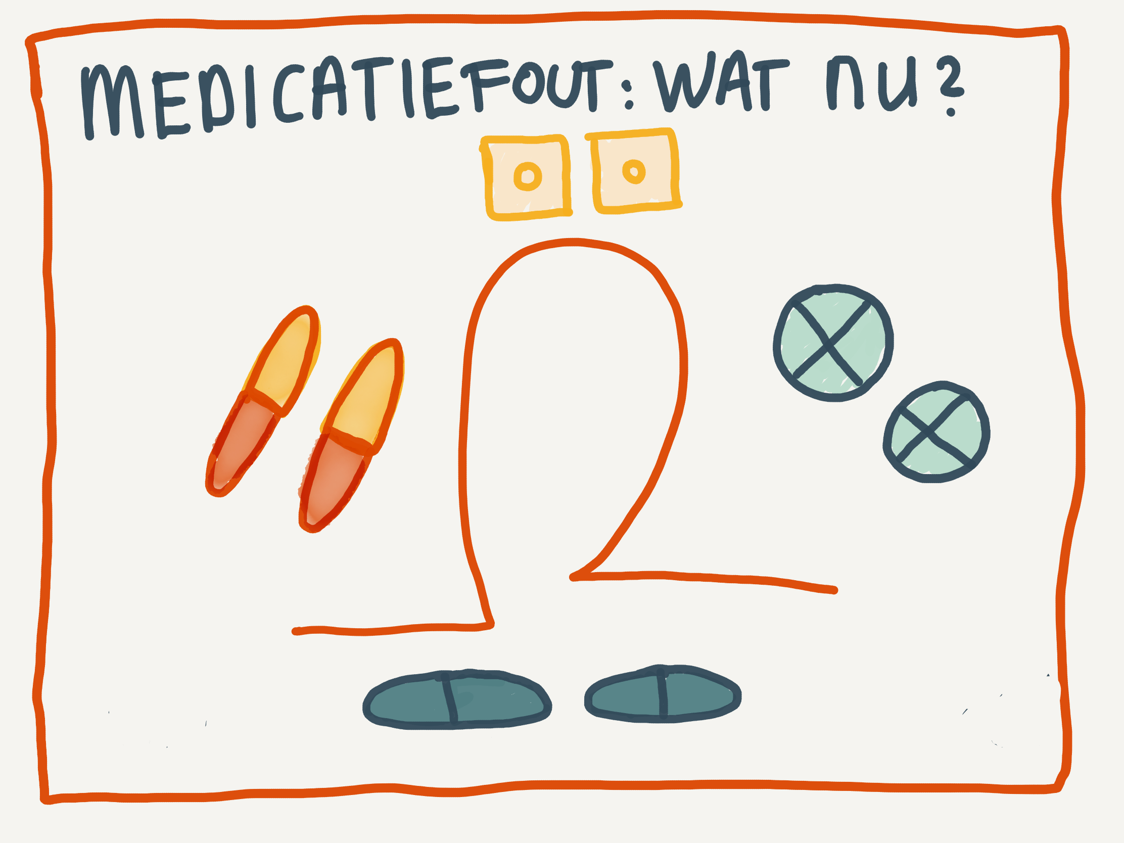 Medicatiefout: wat nu?