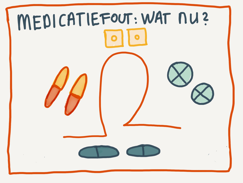 Medicatiefout: wat nu?