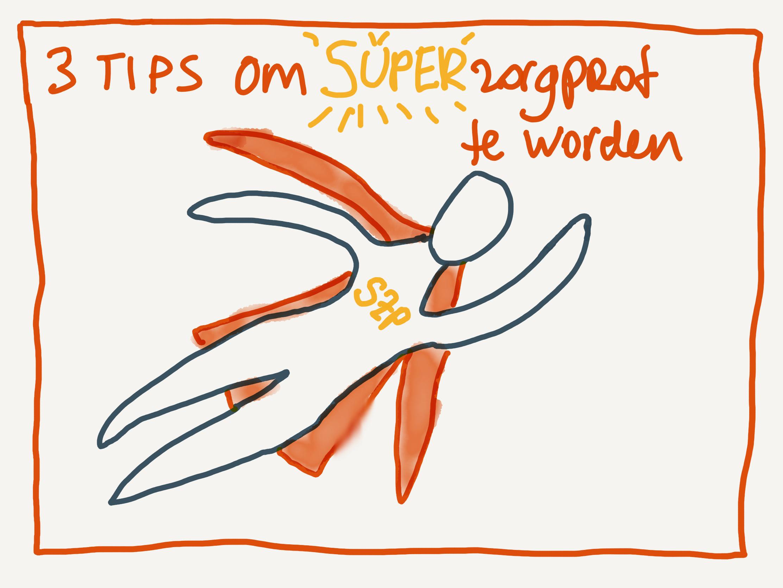 3 tips om een superzorgprofessional te worden
