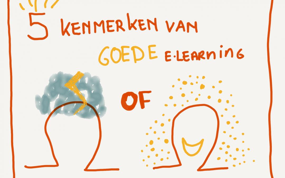 5 kenmerken van goede e-learning
