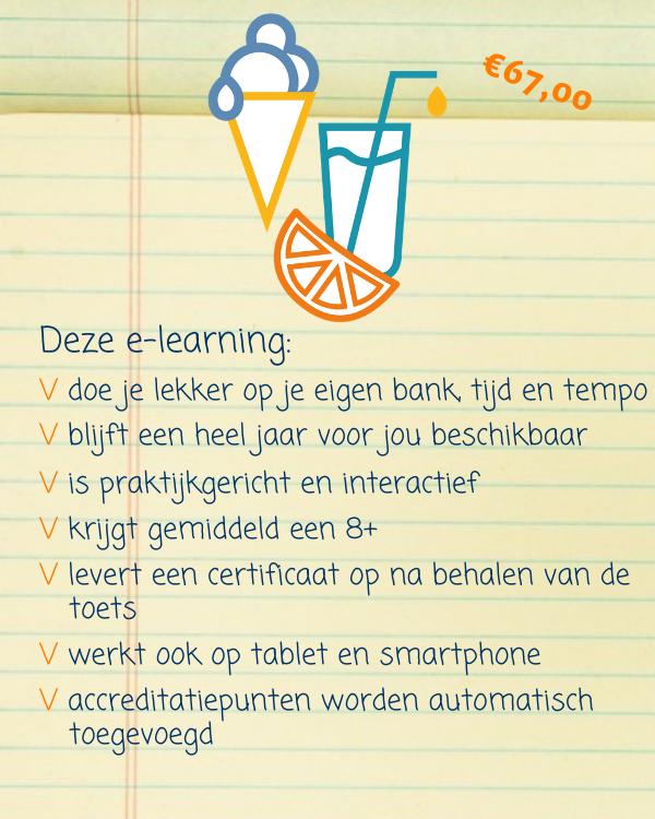 E-learning Voeding en Vocht