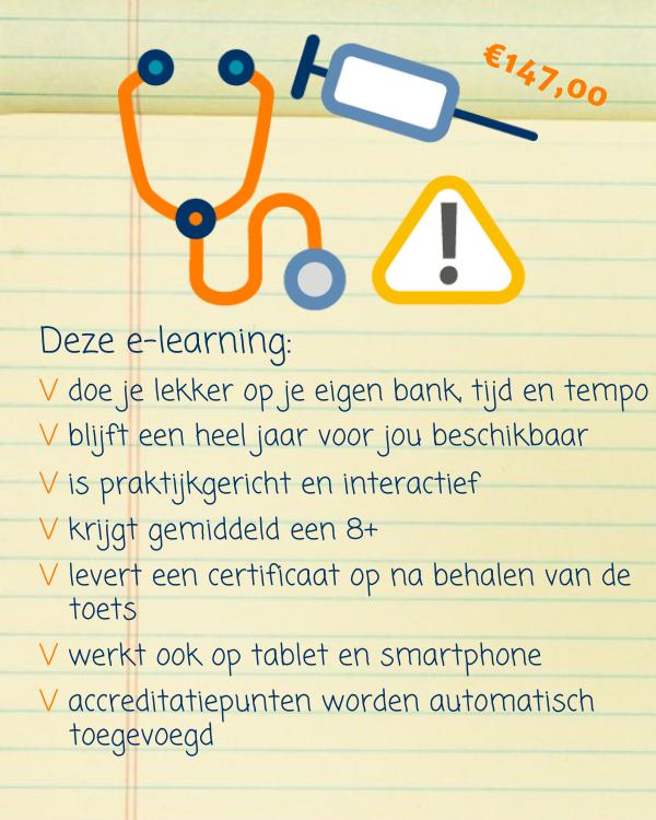 E-learning voorbehouden handelingen