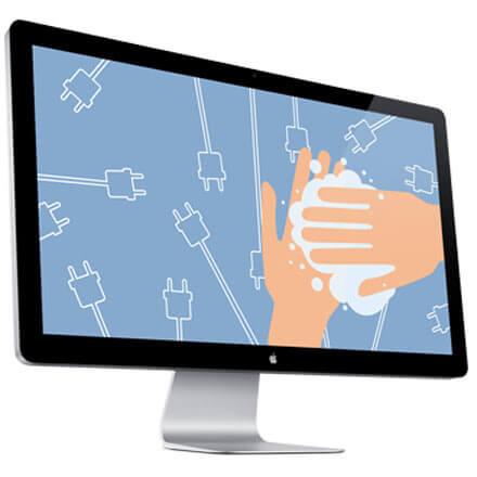 Gratis e-learning handhygiëne en handen wassen